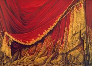 rideau opéra Garnier